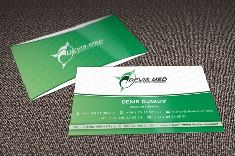 Devis-Med Visitenkarten