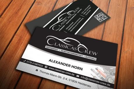 Classicas Crew Visitenkarten