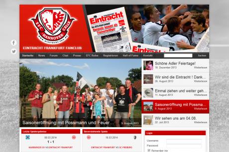 Fanclub Webseite Eintracht-Fan.de