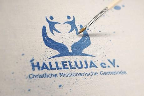 Logo für Kirche Halleluja