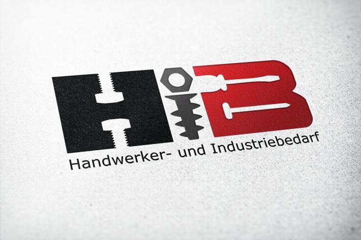 Handwerker und Industriebedarf Logo