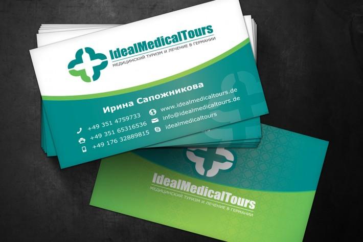 IdealMedicalTours Visitenkarte