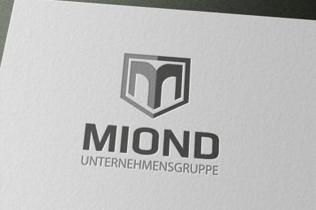 Miond Logo - Logo für Unternehmensgruppe
